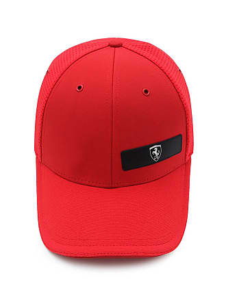 9f1168cde153c Puma Boné Puma Scuderia Ferrari Ls Baseball Vermelho
