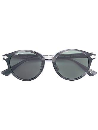 Gucci lunettes de soleil à monture ronde - Vert 5191d7489fa8