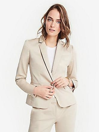 ANN TAYLOR The 1-Button Blazer in Cotton Sateen