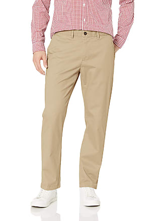 bf55bd716 Tommy Hilfiger Mens Chino Pants Custom Fit Casual, Mallet, 30W x 40L