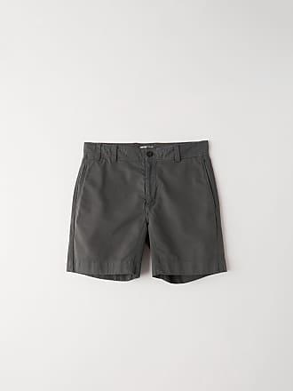 Acne Studios FN-MN-SHOR000009 Anthracite grey Cotton shorts