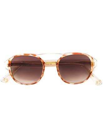 Emmanuelle Khanh round frame sunglasses - Neutro