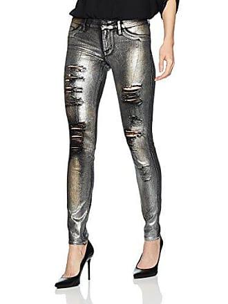 c41104513bb9 Guess Womens Sexy Curve Destory Jean with Raw Hem