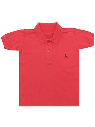 Reserva Mini Camisa Polo Reserva Mini Menino Logo Vermelha