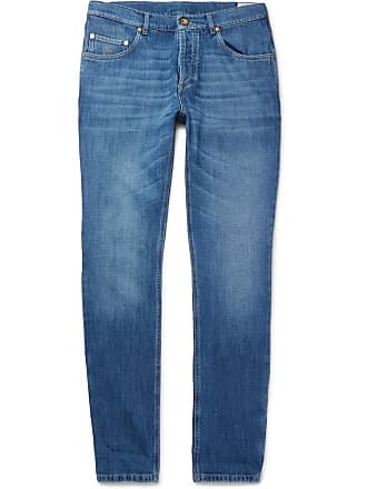 Brunello Cucinelli Slim-fit Denim Jeans - Indigo