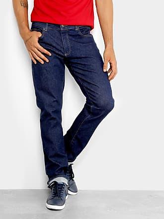 8d1cc53ba5881 Lacoste Calça Jeans Slim Lacoste Fit Masculina - Masculino