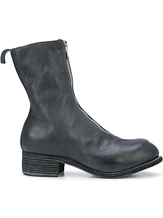 Guidi Ankle boot com zíper - Azul