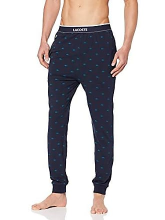 7b1bae5702 Lacoste RAML219 Bas de Pyjama, Bleu (Navy 410), Large (Taille Fabricant