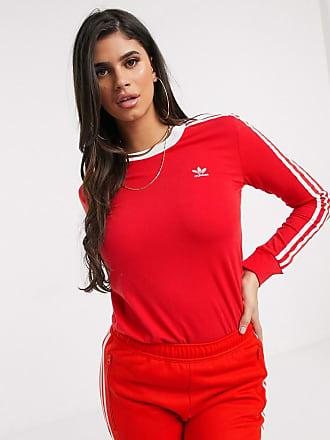 Moda Donna − Abbigliamento adidas® in Rosso | Stylight