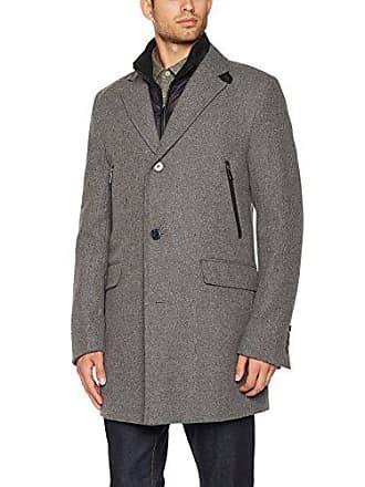 Daniel Hechter 45004 172270-Cappotto Uomo Grigio (Grey 920) Large (Taglia  Produttore e5b9398844a