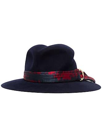16c4f1c7bbb Maison Michel blue Yoshiko jacquard rabbit fur hat