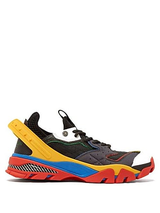 CALVIN KLEIN 205W39NYC Calvin Klein 205w39nyc - Carlos 10 Low Top Trainers - Mens - Black Multi