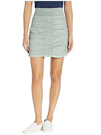Xcvi Wearables Solid Trace Skirt (Dewkist Pigment) Womens Skirt