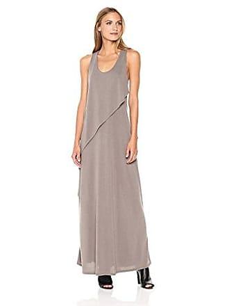 3698fff2344 Bcbgmaxazria BCBGMax Azria Womens Audra Knit Ruffle Overlay Maxi Dress