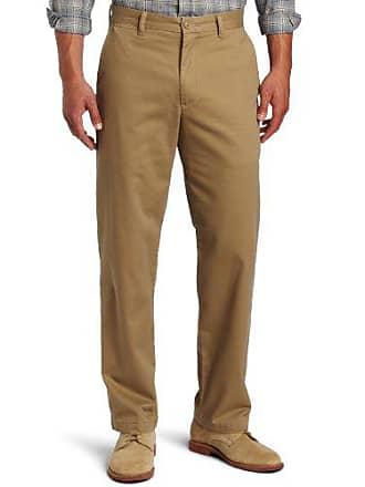 Dockers Mens Saturday Khaki D3 Classic-Fit Flat-Front Pant, New British Khaki - discontinued, 34W x 34L