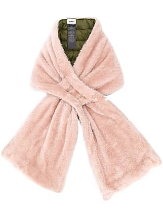 Yves Salomon - Army merino and nylon scarf - Pink