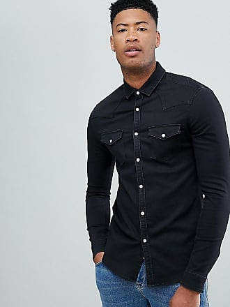cb12efe4 Asos® Denim Shirts − Sale: up to −61% | Stylight