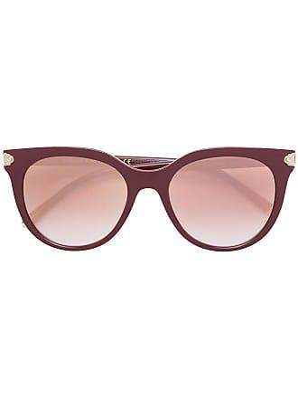 Dolce & Gabbana Eyewear Óculos de sol redondo - Vermelho