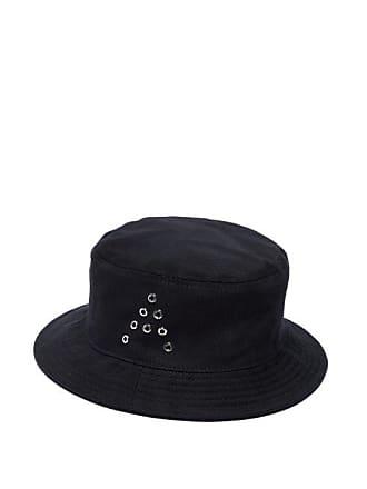 abe2d9c73c103f Acne Studios Buk A Cotton Twill Bucket Hat - Mens - Black