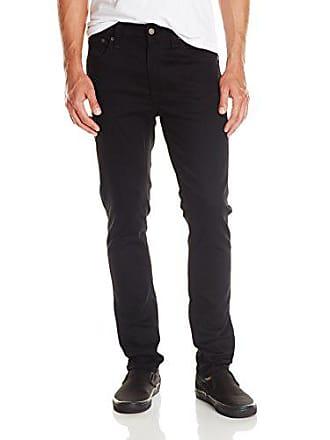 Nudie Jeans Mens Lean Dean Dry Cold Black, Dry Cold Black, 33x30