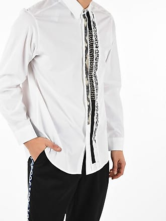Just Cavalli Hidden Closure Shirt with Applications size 50