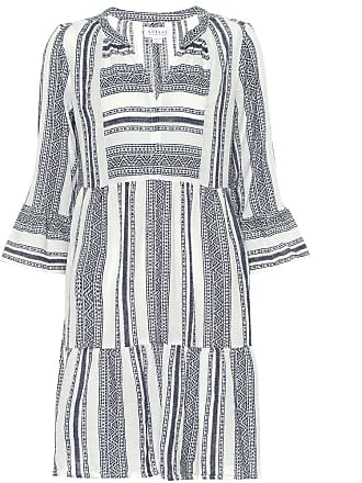 Velvet Cambria patterned cotton dress