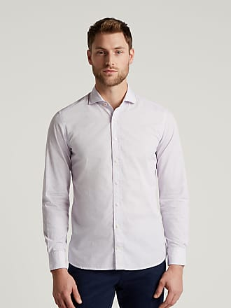 Hackett Mens H Logo Print Cotton Shirt   Medium   Orange/Blue