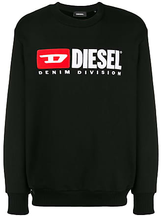 Diesel S-Crew-Division sweatshirt - Black