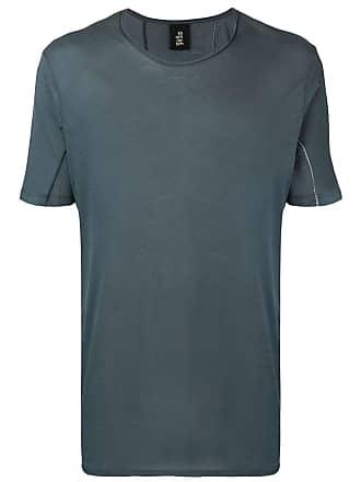 Thom Krom Camiseta gola careca - Cinza