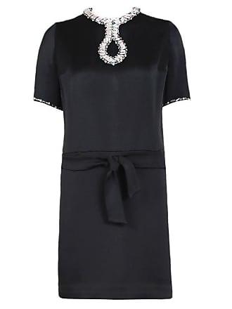 eb19af217dc Pierre Cardin Haute Couture Cocktail Dress W space Age Design Motif Ca. 1966