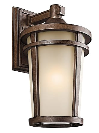 Kichler 49073BST Outdoor Wall 1Lt in Brown Stone