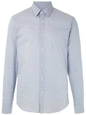 HUGO BOSS Camisa com abotoamento - Azul