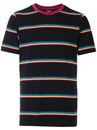 À La Garçonne T-shirt listrada com logo - Estampado