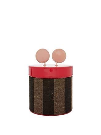 Fendi Cofanetto Jacquard-stripe Jewellery Box - Brown Multi