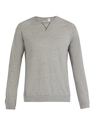 Paul Smith Crew Neck Cotton Jersey Pyjama Top - Mens - Grey 148f7843e