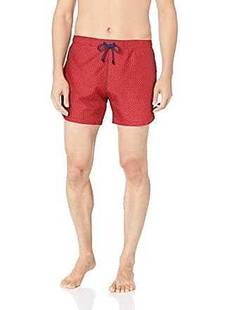 16f3e0824 HUGO BOSS Mens Viperfish Printed Swim Trunk, Open red, Large