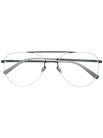 Mykita Jun aviator-frame glasses - Dourado