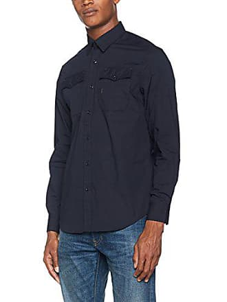 G-Star Landoh Shirt L s, Chemise Casual Homme, Bleu (Legion 1cc8d29eee9c