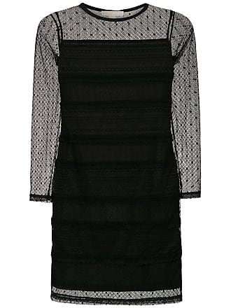 3ef8c5f447d4b Michael Michael Kors Vestido de renda mangas longas - Preto
