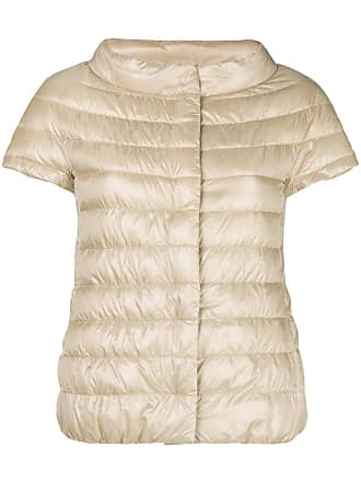 Herno shortsleeved padded jacket - Neutrals