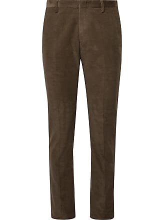3664672d7a8 Paul Smith Olive Slim-fit Cotton-corduroy Suit Trousers - Brown