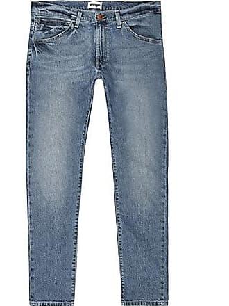 Wrangler Mens Wrangler light blue skinny jeans
