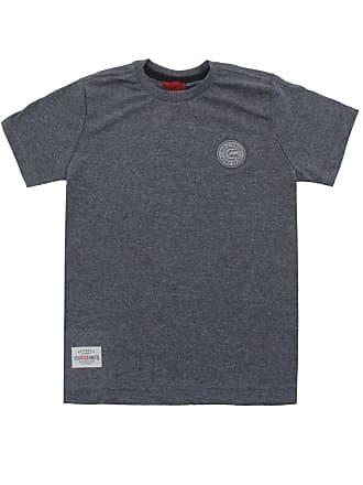 Ecko Camiseta Ecko Menino Lisa Cinza