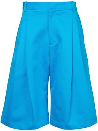 Ex Infinitas wide leg shorts - Azul