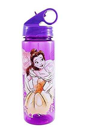 Disney Silver Buffalo DN7964 Disneys Princess Beauty and the Beast Belle Tritan Water Bottle, 20 oz, Multicolor