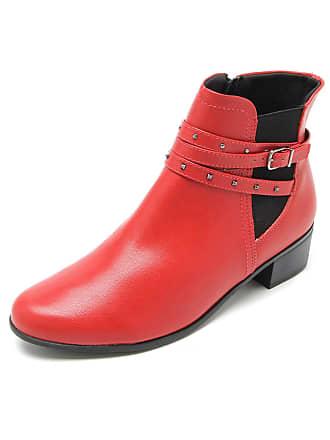 2ae9c409ba Vermelho Sapatos De Couro  Compre com até −80%