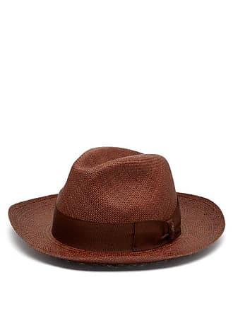 4c6a41ed Borsalino Quito Panama Straw Hat - Mens - Brown