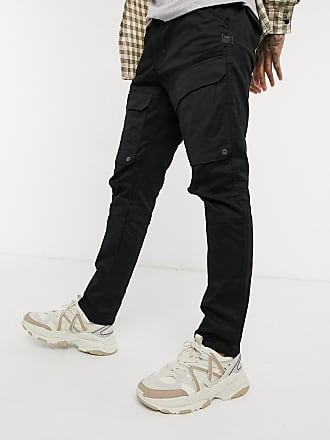 G-Star Schmale Cargo-Hose mit Tasche vorn in Schwarz