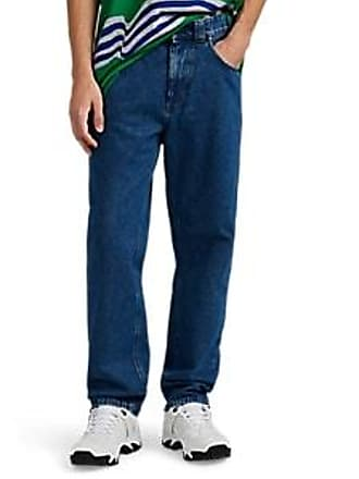 Martine Rose Mens Straight Jeans - Md. Blue Size L