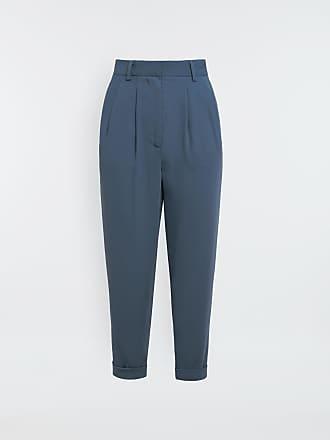 Maison Margiela Mm6 By Maison Margiela Dress Pants Pastel Blue Polyester